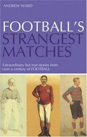 Cover of: Football's Strangest Matches