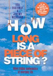 Cover of: How Long Is a Piece of String?