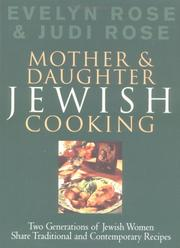 Cover of: Mother and Daughter Jewish Cooking