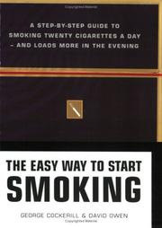 Cover of: The Easy Way to Start Smoking