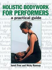 Cover of: Holistic Bodywork for Performers