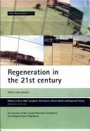 Cover of: Regeneration in the 21st Century