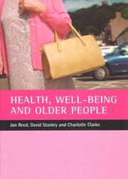 Cover of: Health, Well-Being and Older People