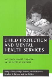 Cover of: Child Protection and Mental Health Services