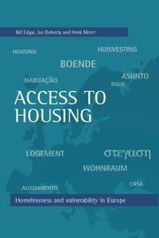Cover of: Access to Housing