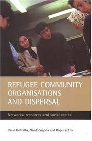Cover of: Refugee Community Organisations And Dispersal