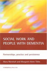 Cover of: Working With Dementia