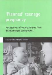Cover of: Planned Teenage Pregnancy