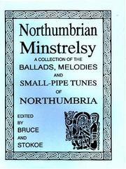 Cover of: Northumbrian Minstrelsy