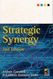 Cover of: Strategic Synergy