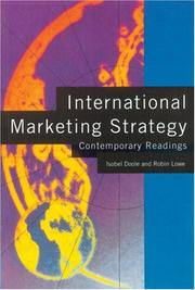 Cover of: International Marketing Strategy