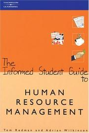 Cover of: The Informed Student Guide to Human Resource Management