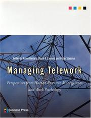 Cover of: Managing Telework
