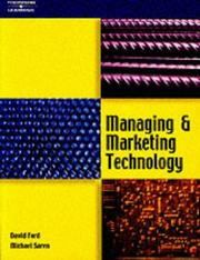 Cover of: Managing and Marketing Technology