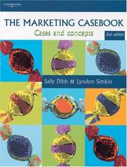 Cover of: The Marketing Casebook