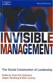 Cover of: Invisible Management