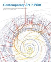 Cover of: Contemporary Art in Print