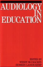 Cover of: Audiology in Education (Exc Business And Economy (Whurr))