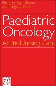 Cover of: Paediatric Oncology