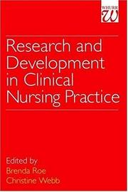 Cover of: Research and Development in Clinical Nursing Practice