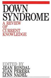 Cover of: Down Syndrome