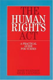 Cover of: The Human Rights Act