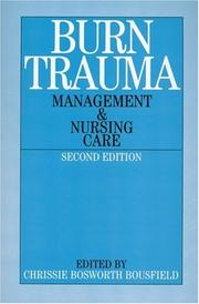 Cover of: Burns Trauma