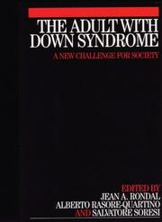 Cover of: The Adult with Down Syndrome
