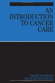 Cover of: An Introduction to Cancer Care