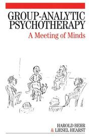 Cover of: Group-Analytic Psychotherapy
