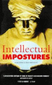 Cover of: Intellectual Impostures