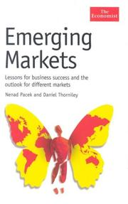 Cover of: Emerging Markets