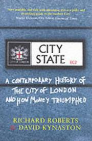 Cover of: City State