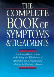 Cover of: The Book of Symptoms and Treatments