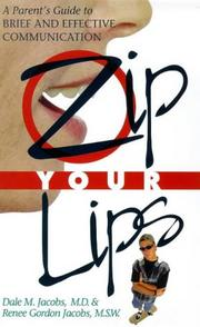 Cover of: Zip Your Lips