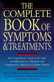 Cover of: The Complete Book of Symptoms and Treatments