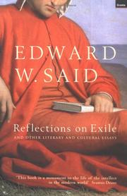 Cover of: Reflections on Exile