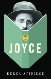 Cover of: How to read Joyce
