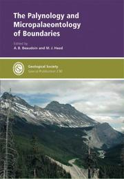 Cover of: The Palynology And Micropalaeontology of Boundaries