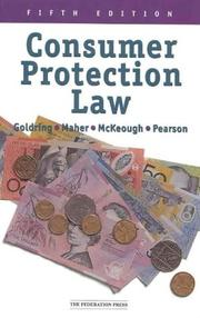 Cover of: Consumer Protection Law