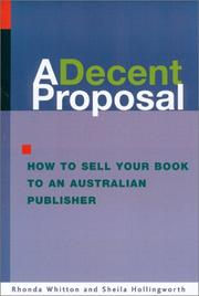 Cover of: A Decent Proposal