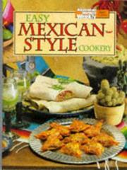 Cover of: Easy Mexican-Style Cookery.