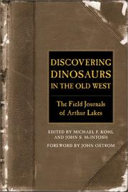 Cover of: Discovering Dinosaurs in the Old West