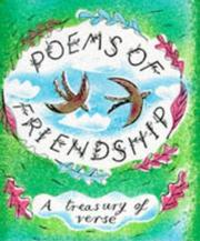 Cover of: Poems of Friendship