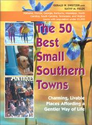 Cover of: The 50 Best Small Southern Towns