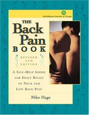 Cover of: The Back Pain Book