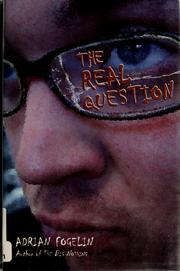 Cover of: The real question