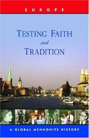 Cover of: Testing Faith And Tradition