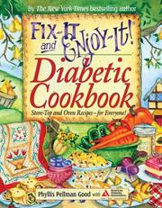 Cover of: Fix-it and Enjoy-it! Diabetic Cookbook