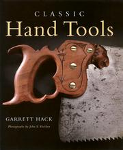 Cover of: Classic Hand Tools